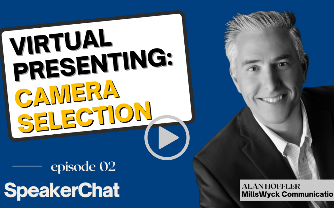 Virtual Presenting:  Camera Selection